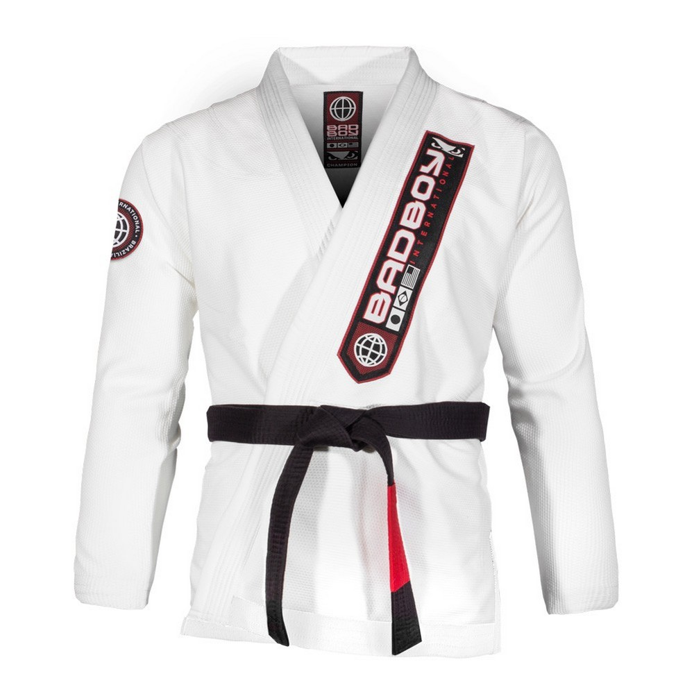 Кимоно Bad Boy Pro Series Champion BJJ Gi - White фото 5