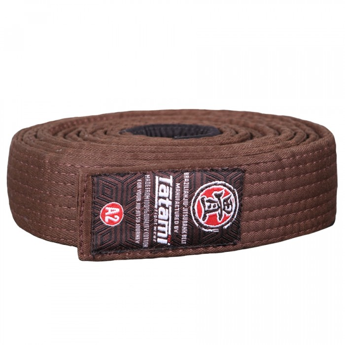 Пояс Tatami Adult BJJ Rank Belt (Brown)