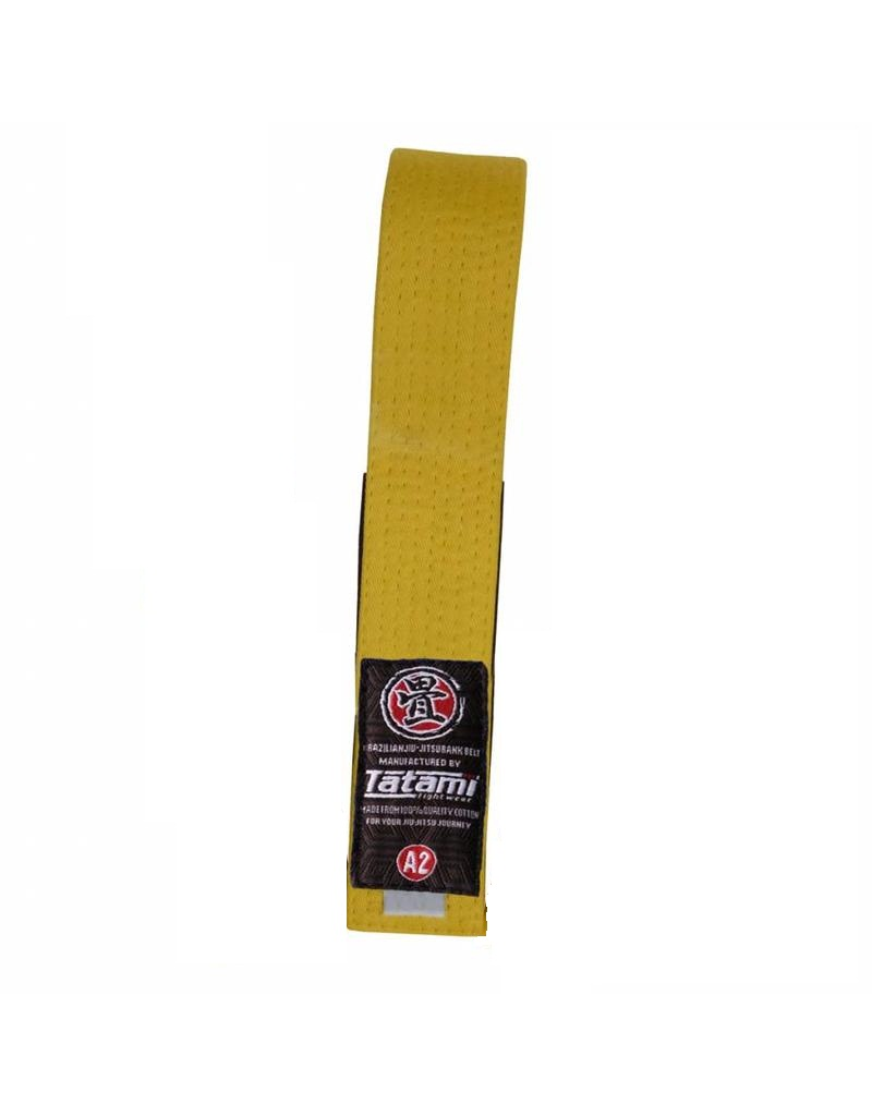 Пояс детский Tatami IBJJF Kids Rank Belts Yellow