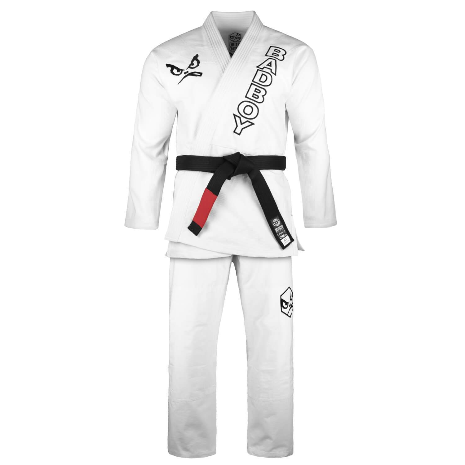 Кимоно Bad Boy Retro BJJ Gi Limited Edition White