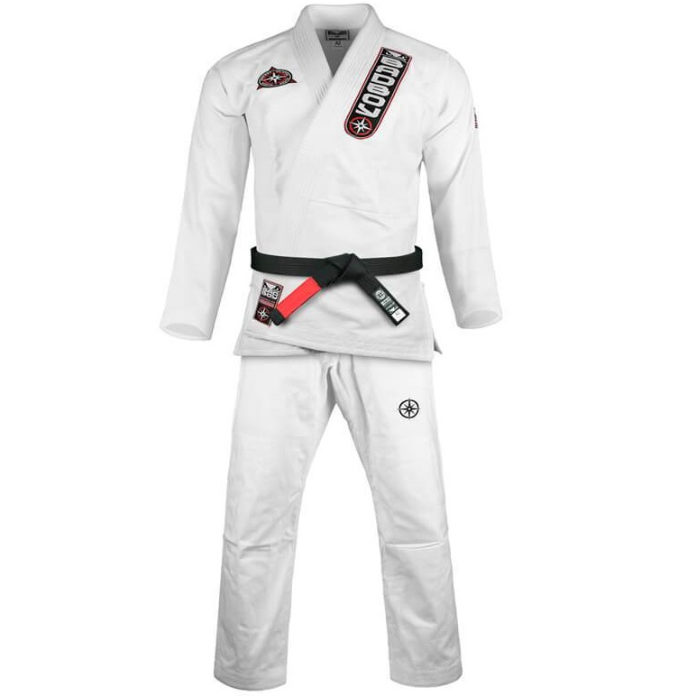 Кимоно Детское Bad Boy Training Series North South Youth BJJ Gi-White