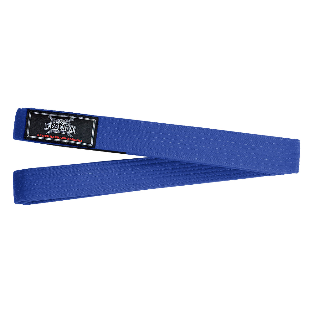 Пояс для кимоно BJJ Legenda Blue