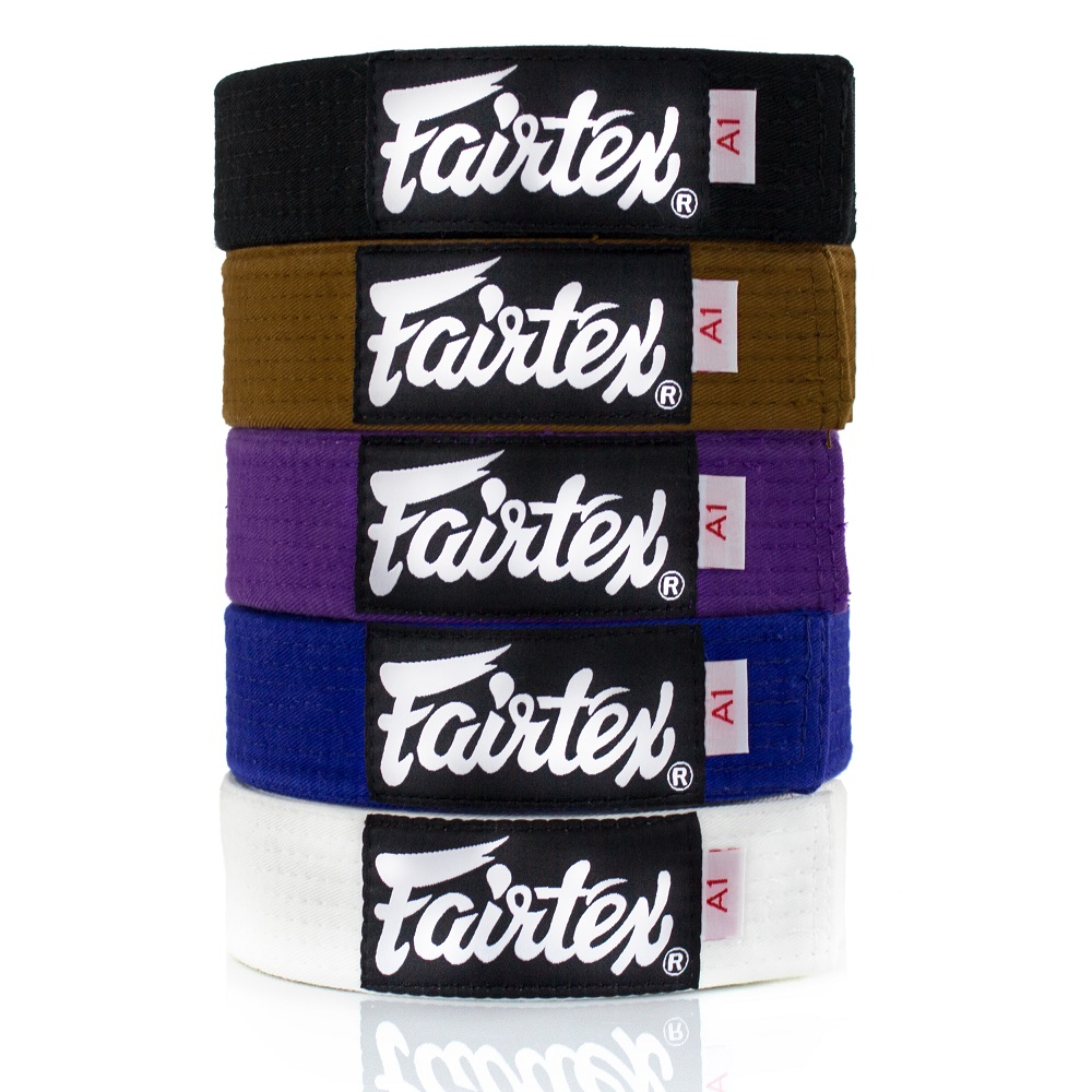 Пояс FAIRTEX BJJ Belt BJJB1 White