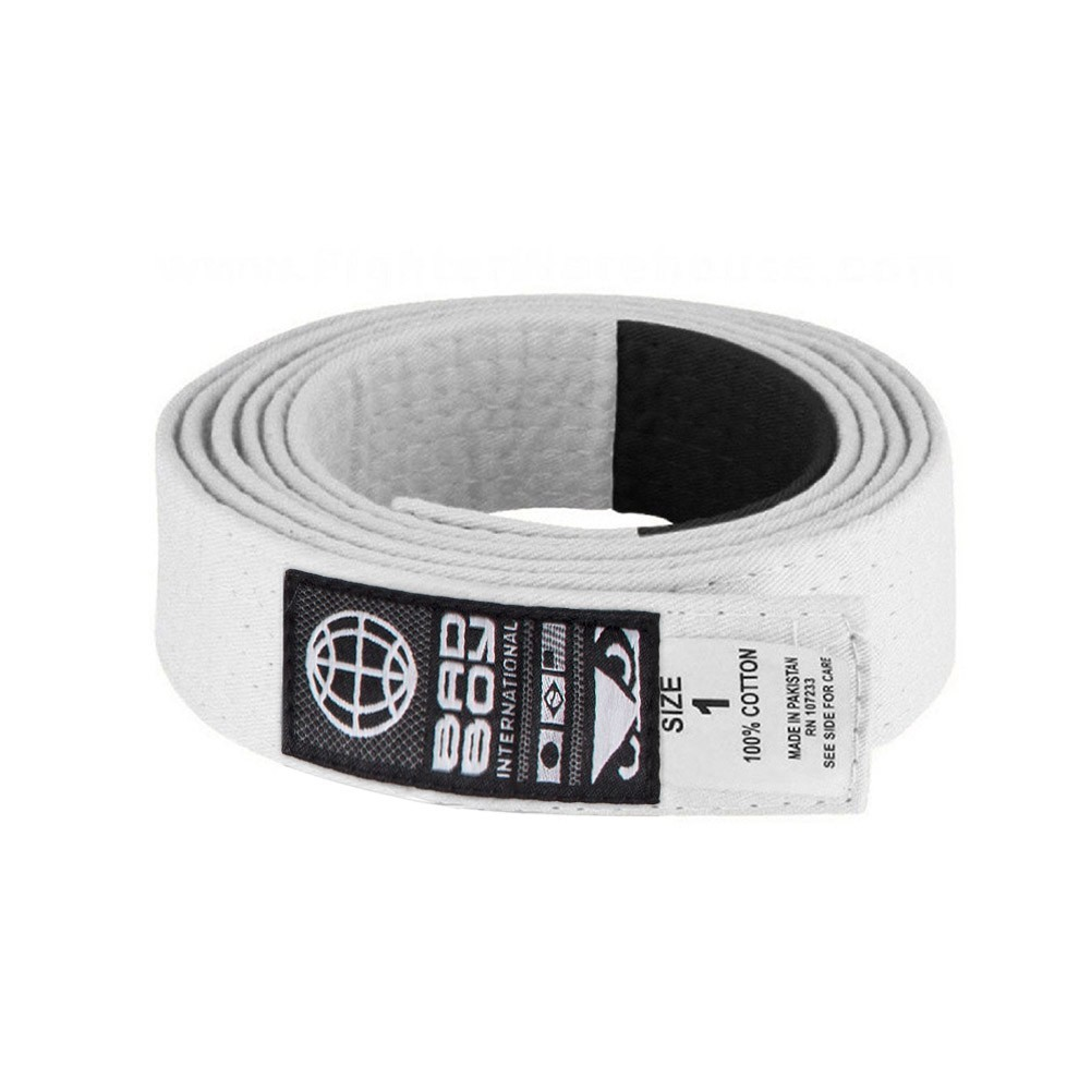 Пояс Bad Boy BJJ Belt - White