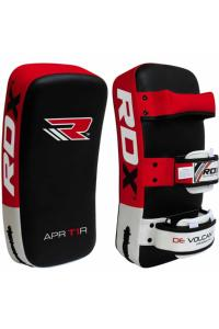 Пэды RDX Thai Strike Pads for KickBoxing with Curve Red (1 шт)